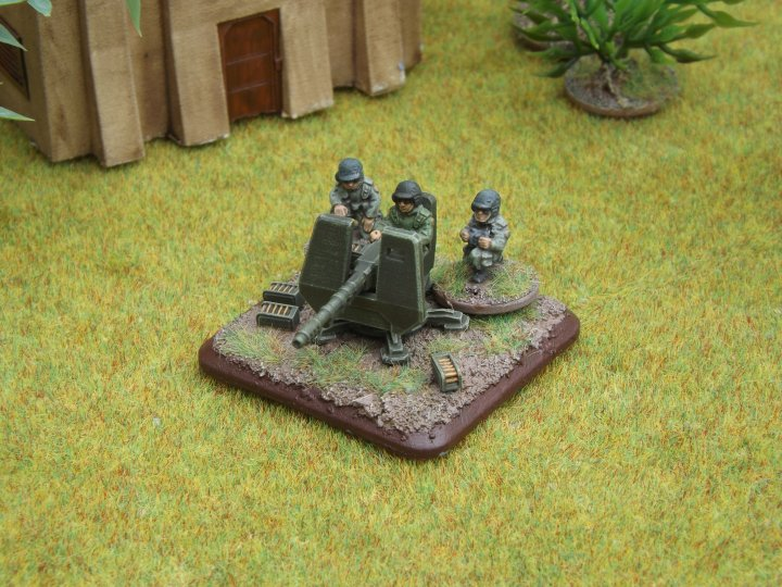 Ground Mount AA Gun [BRG-SF15-416e]