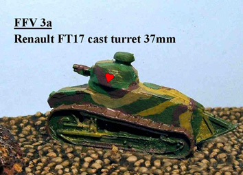 FT17 Cast Turret MG [QRF-FFV03a]