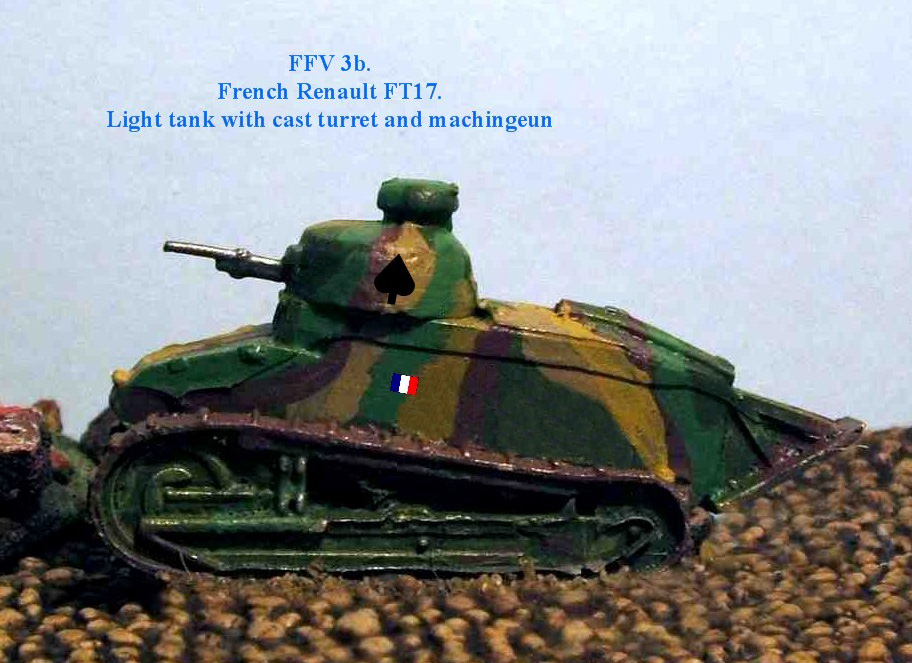 FT17 Cast Turret 37mm [QRF-FFV03b]