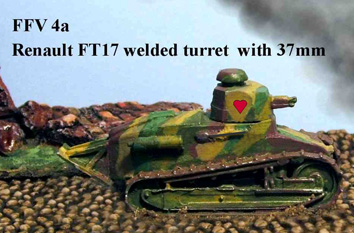 FT17 Welded Turret MG  [QRF-FFV04a]