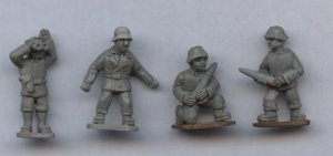 Crews for 21 Panzer�(8 figs) [QRF-NGI20]